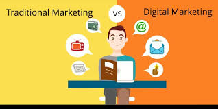 Digital Marketing v/s Traditional Marketing – The Doers Network